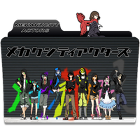 Mekakucity Actors Anime Folder Icon by BloodyGaikotsu