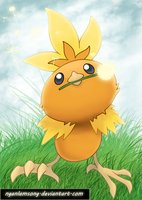 255 - Torchic by nganlamsong