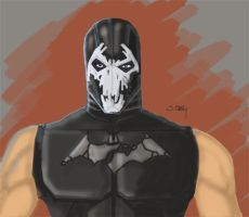 Bane concept art. by JimmyChang83