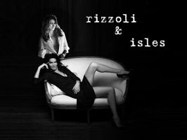Rizzoli and Isles Wallpaper by luvart2