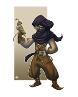 Character Design Challenge - Steampunk Nomad by LarissaRivero