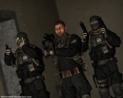 Delta Force styled guys by MarineACU