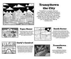 Translytown the City by ibroussardart
