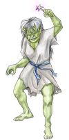 Old Goblin Lady by 626elemental