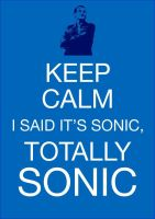 keep calm, because it's sonic by morwenvaidt