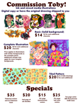 August 2014 commission prices by ttoby