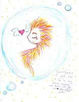 I like being alone in my bubble by Kittychan2005