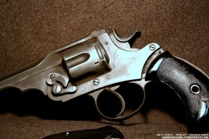 Indy's Webley Revolver - Resin Cast Replica by JohnsonArms