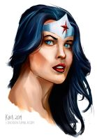 Wonder Woman by sympathized