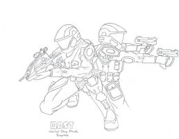ODST's by Inamber