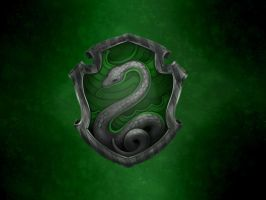 Slytherin Emblem by Kuryuukia