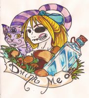 Alice In Wonderland by AmyLou31
