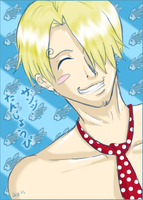 Sanji - Happy Late B-day by firnantowen