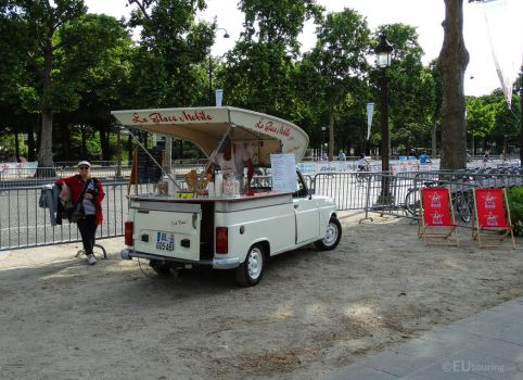 Classic ice-cream car by EUtouring