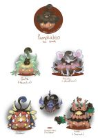 Pumpkaboo Variants: set 3