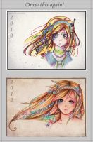 Draw this Again! 2010 to 2012 by Tajii-chan