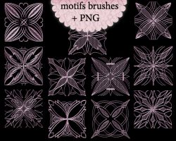 Motifs Brushes by roula33