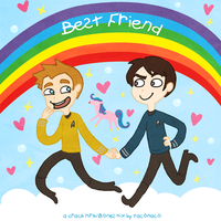BEST FRIEND: Kirk+Bones Fanmix by taconaco
