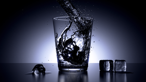 Water Glass by CG-DJ