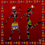 african dance by zenbolic-vision