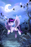 Commission for White-Moonlight by mapony240