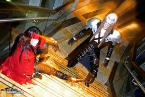 Vincent Valentine    pose 6 by RedDeath1888
