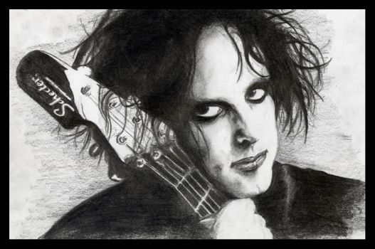 Robert Smith by Dmented7