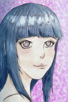 Hinata Water Color by stickypenguin