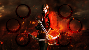 Ada Wong wall PS Vita by VickyxRedfield