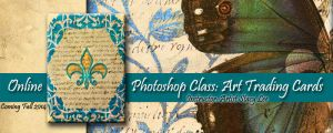Photoshop Art Trading Cards Online Class by Stacy  by StacyLeeArt