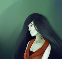 Semi-Realism practice - Marceline by Lanaroseart