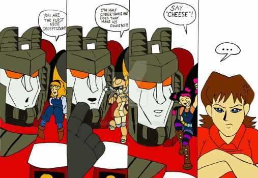 TF: Starscream and 'Fangirls' by xero87