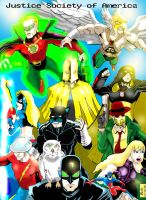 JUSTICE SOCIETY of AMERICA by gagex07