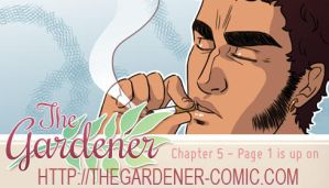 The gardener - Chapter 5 page 1 by Marc-G