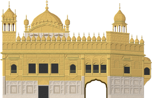 Golden Temple by Herbertrocha