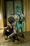 Miku and Kaito - Steampunk by maki-chama