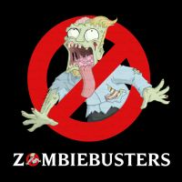 Zombies VS T-shirts - Zombiebusters by happymonkeyshoes
