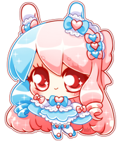 Mini-Chibi Cotton Candy by Volet