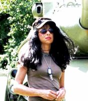 Photograph of of myself taken at a VFW by AudraMBlackburnsArt