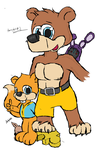 Banjo und Conker by AD4sh by AD4SH