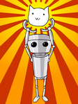 Chibi-Robo! Cat Planet Adventure by PsychoPop