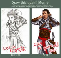 draw this again meme by hollyoakhill
