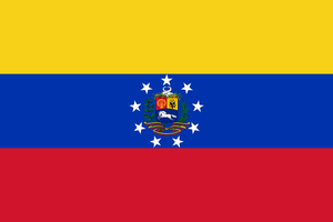 United States of South America Political Flag by Rodef-Shalom