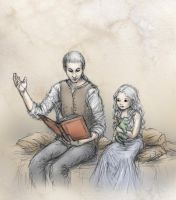 Daenerys and Viserys by ejbeachy