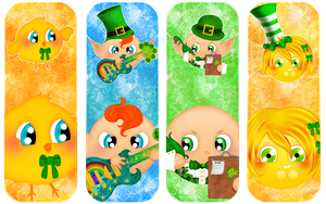 The St Patty Club - Bookmarks by zemimsky