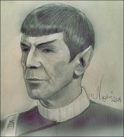Captain Spock by Nagini-snake