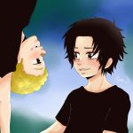 One Piece - Ace and Sabo by WhistlingWolf13