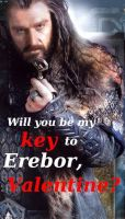 VALENTINES CARD- Thorin by BabysbBUM