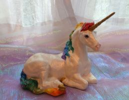 Vintage Dream Windstone PYO Unicorn by Eviecats