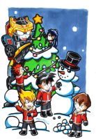 Snowy Christmas 2009 by punkbot08